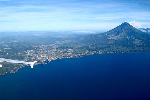 Mt. Mayon and Legazpi City, Philippines