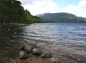 Muckross Lake - Southern shore of Muckross Lake.