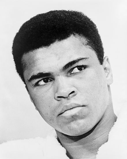 Heavyweight champion Muhammad Ali was a typical example of an out-fighter. Muhammad Ali NYWTS.jpg