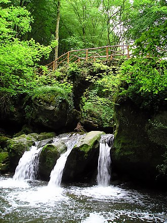 Little Switzerland (Luxembourg) - Schéissendëmpel waterfall
