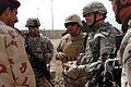 Multi National Division-Baghdad Commanding General visits COP Callahan, Sad DVIDS40384.jpg