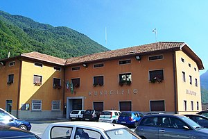 Malonno - the Town Hall