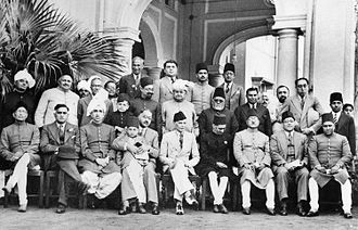 Pakistan Day - Image: Muslim League leaders after a dinner party, 1940 (Photo 429 6)
