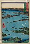 Mutsu Province, View of Matsushima, Sight Map from Mount Tomi.jpg