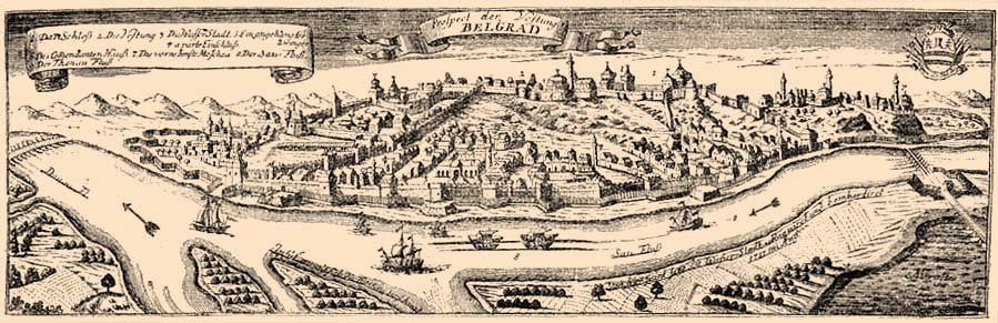 Nándorfehérvár-18th century