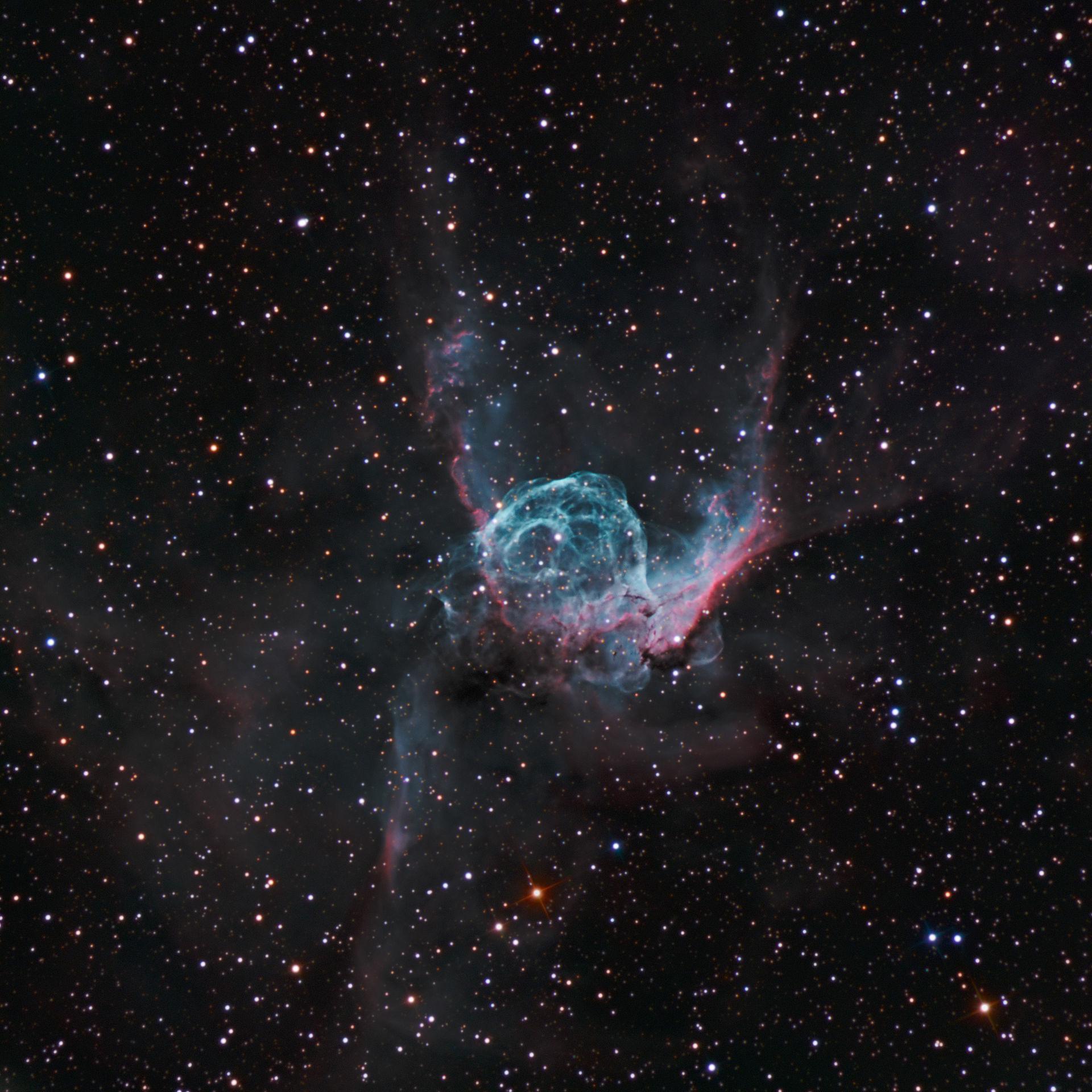 Crescent nebula - narrowband | Crescent nebula NGC 6888