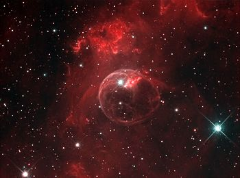 English: Image of the Bubble Nebula (NGC 7635)...