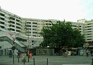 36 Boys - The tower blocks of the Kottbusser Tor in Berlin-Kreuzberg, former turf of the 36 Boys