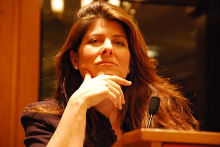 Naomi Wolf speaking at Brooklyn Law School, January 29, 2009