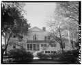 NORTH (REAR) ELEVATION - Robert Means House, 1207 Bay Street, Beaufort, Beaufort County, SC HABS SC,7-BEAUF,19-2.tif