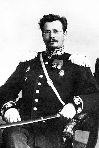 Nikolai Kravkov - Nikolai Kravkov as Professor of the Imperial Military Medical Academy. Circa 1915