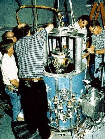 Sub-critical experiment at the Nevada National Security Site NTS - LLNL subcritical experiment.jpg
