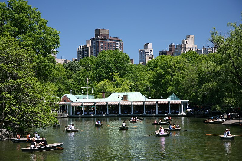 File:NYC The Lake boathouse.jpg