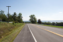 NY State Route 90, near Union Springs