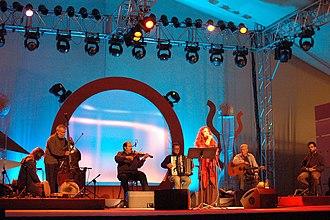 Sephardic music - Sephardic ensemble Naguila from France and Morocco performing in Warszawa, September 2008.