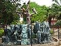 Nandankanan Zoological Park, Entrance fountain.jpg