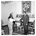 Nasser receiving the Indian Deputy Minister of Interior (04).jpg