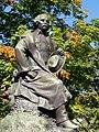 Nathaniel Hawthorne statue - Salem, Massachusetts.JPG