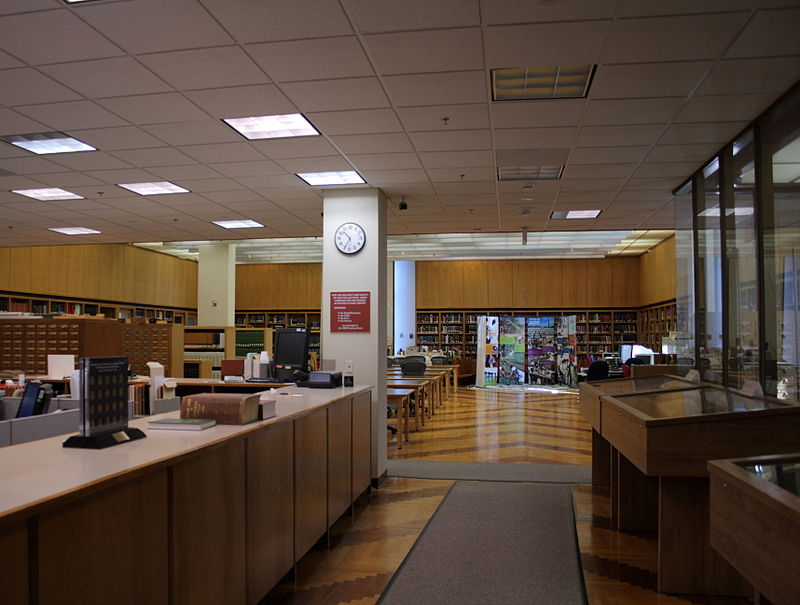 National Library of Medicine, History of Medicine Reading Room, October 9, 2008.jpg