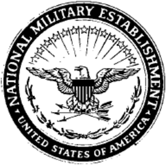 National Security Act of 1947 - Image: National Military Establishment seal 1947 1949