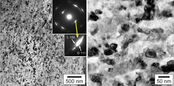 Natural nanodiamond TEM