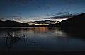 Nautical twilight sunset over Sandy Lake (DSCF3005).jpg