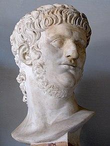 Nero (busta v Kapitolských muzeích v Římě)