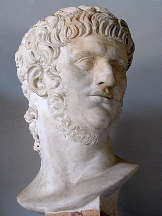 Nero - Bust of Nero at the Musei Capitolini, Rome