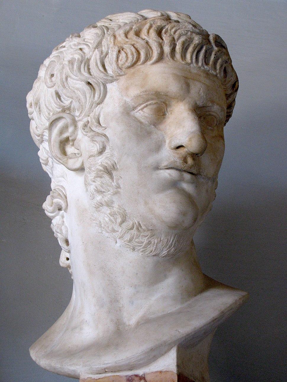 Byst av Nero i Musei Capitolini, Rom