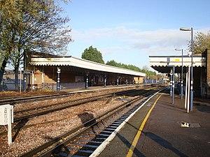 New Beckenham railway station - Image: New Beckenham Railway Station geograph.org.uk 1581959
