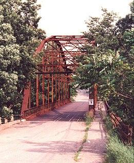New Sharon Bridge bridge in United States of America