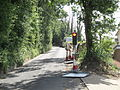 Newport St George's Lane roadworks.JPG