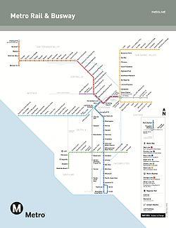 Los Angeles Metro Rail  Wikipedia The Free Encyclopedia