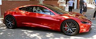 Tesla Roadster (second generation) Sports car from Tesla, Inc.