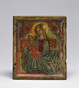 Niccolò Brancaleon - Right Half of a Diptych with the Virgin and Child - Walters 3615.jpg