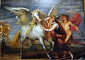 Nice paintings in the Brabants Museum, the horse Pegasus conquered - panoramio.jpg