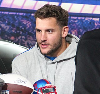 Nick Bosa American football defensive end