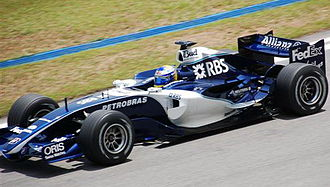 2006 Malaysian Grand Prix - Nico Rosberg qualified third in only his second race.