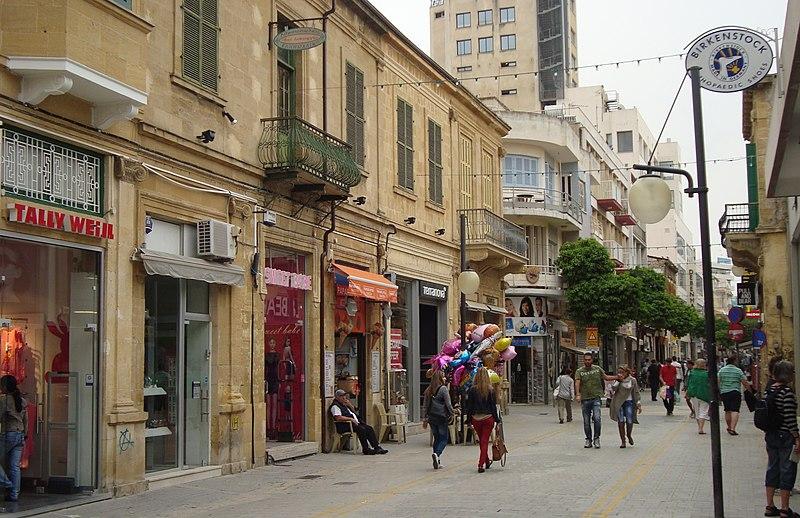 File:Nicosia Ledra street afternoon Republic of Cyprus 34.JPG
