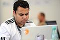 Nimish - Wikimedia 2011 hackathon in Berlin 014.jpg