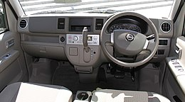 Nissan NV100 Clipper Rio G High roof interior.jpg