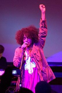 Nneka (singer) Nigerian-German hip hop/soul singer and songwriter