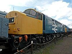 No.40145 East Lancashire Railway (Class 40) (6133610612).jpg