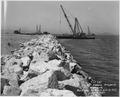 No. 287 Yerba Buena Shoals Projects Rock Wall on North End of Fill July 19, 1937 - NARA - 296378.tif