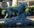 Nogent-le-Rotrou - Park Place de la République - Statue.JPG