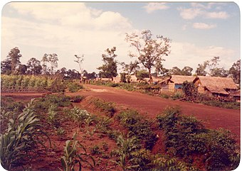 Nong Samet Camp, section 2, May 1984.