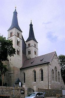 Nordhäuser Dom, Türme und Chor