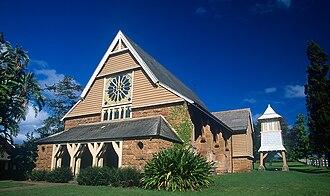 Mana - Image: Norfolk Island St Barnabas Chapel