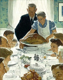 Norman Rockwell - Freedom of Want