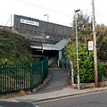 Northfield Station Station Road Entrance.JPG